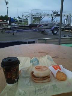 今日の朝ごはーん。
